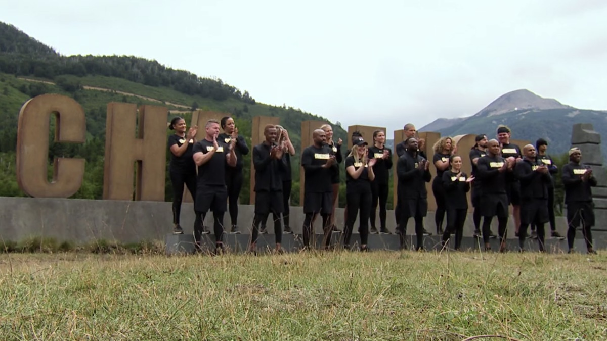 the challenge all stars cast during episode 3 melt away