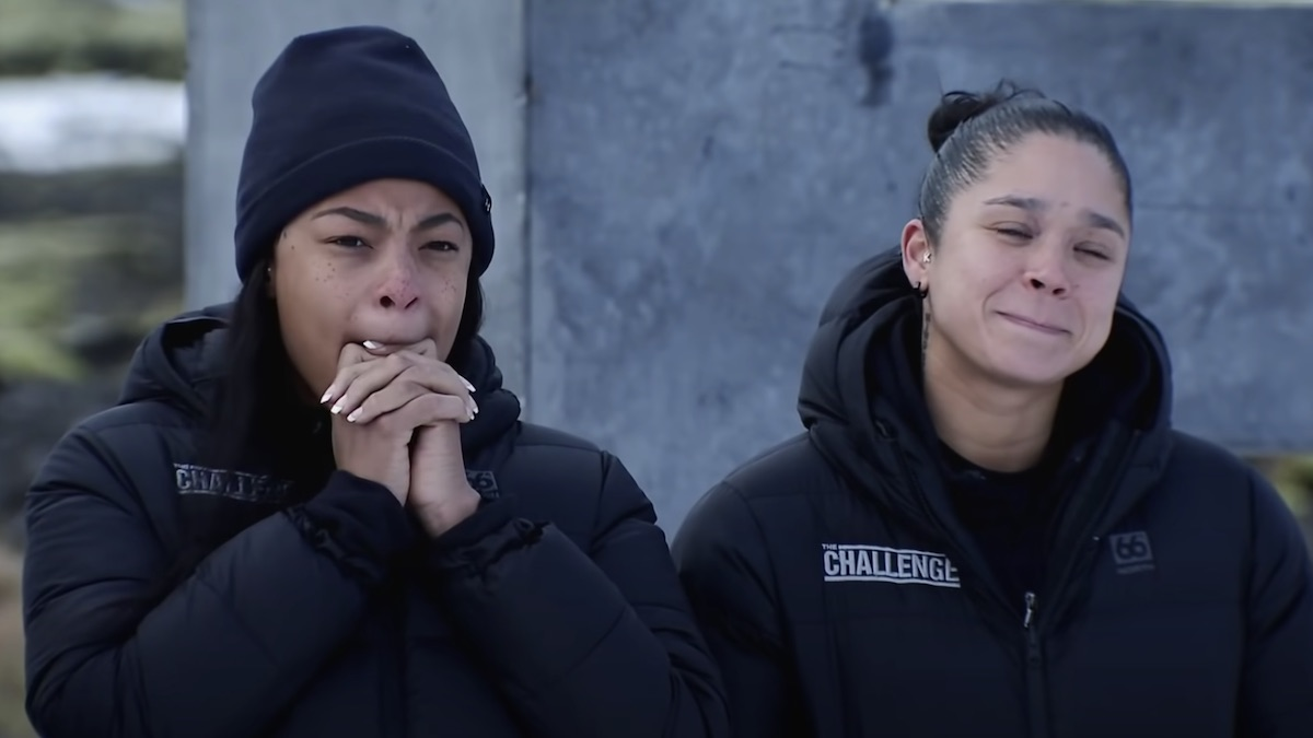kam williams and kaycee clark on the challenge double agents