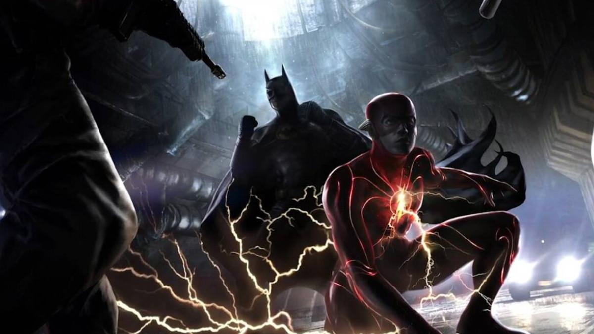 The Flash movie begins production Keaton.