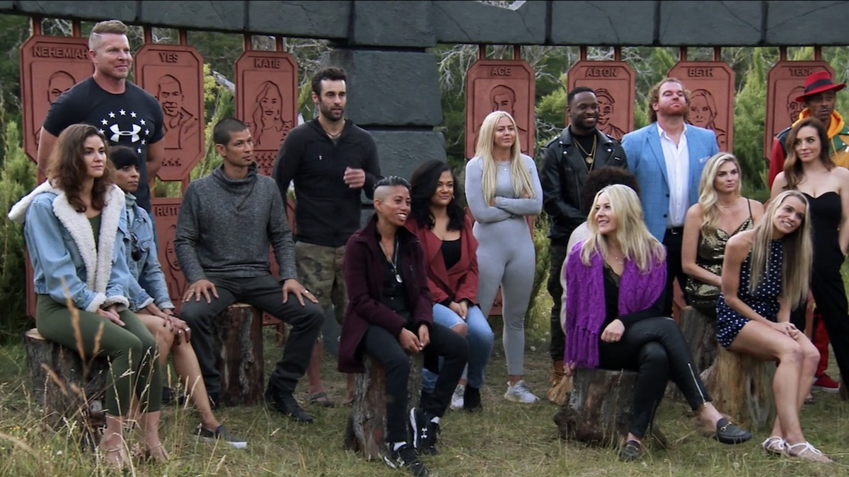 the challenge all stars cast members in premiere episode
