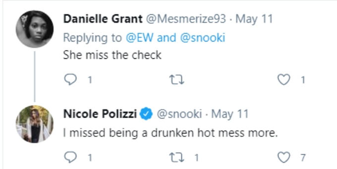 A fan thinks Snooki returned for money