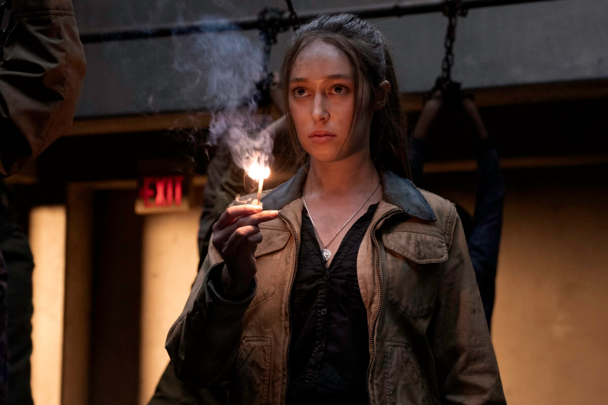 Alycia Debnam-Carey stars as Alicia Clark, as seen in Episode 11 of AMC's Fear the Walking Dead Season 6