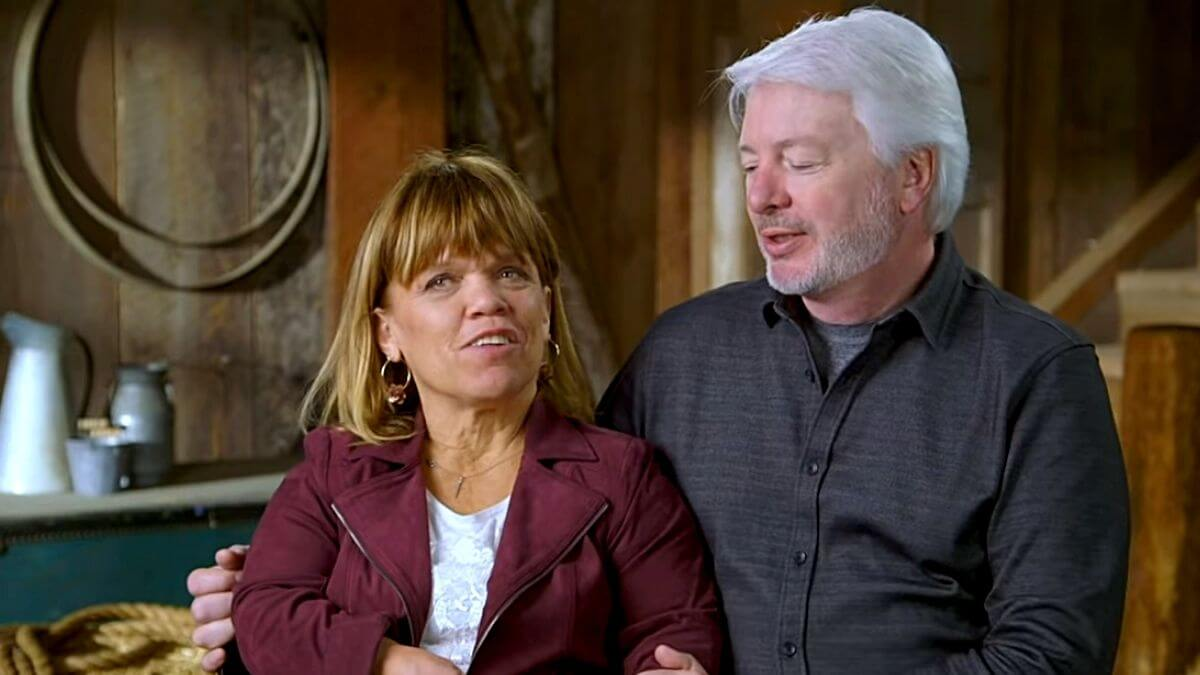 Amy Roloff and Chris Marek of LPBW