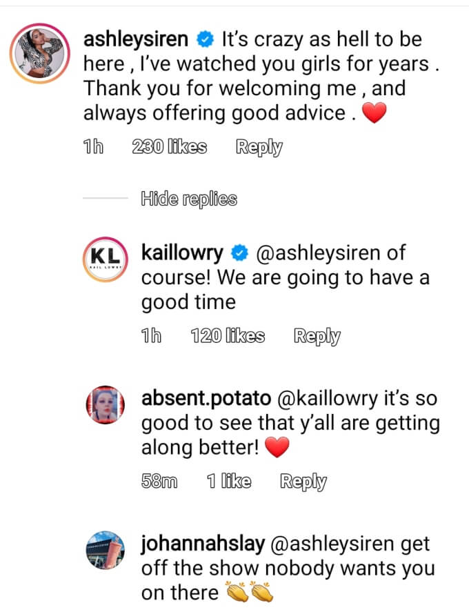 Kail Lowry and Ashley Jones of Teen Mom 2 on Instagram