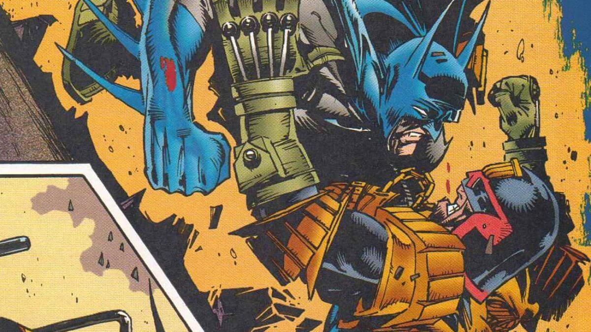 Batman Judge Dredd
