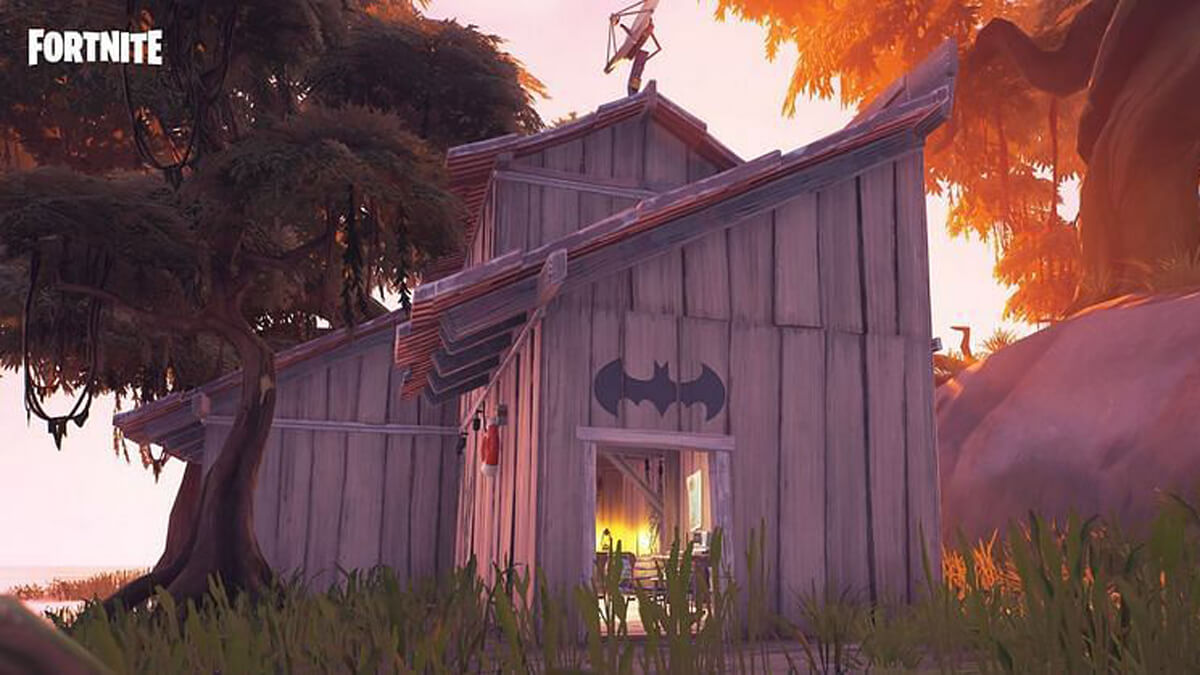 Batman is in an endless loop in his Fortnite crossover