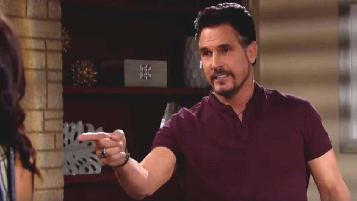 The Bold and the Beautiful spoilers reveal Bill and Liam clash.