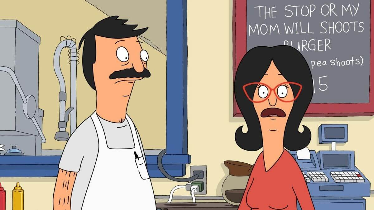 Production still from Bob's Burgers.