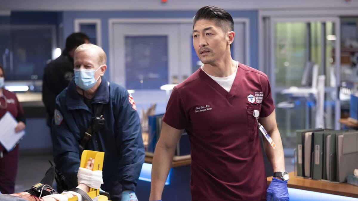 Brian Tee As Ethan Choi On Chicago Med