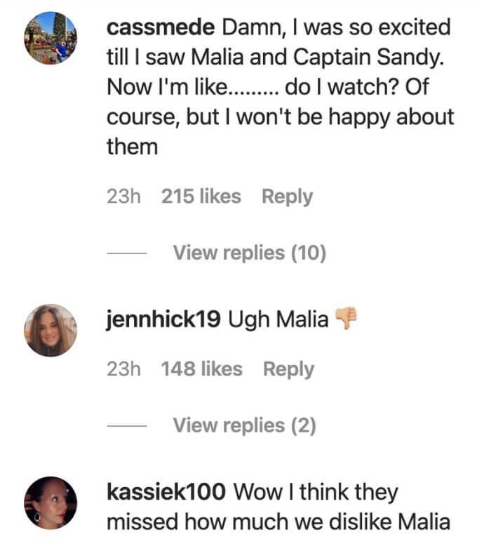 Captain Sandy and Malia's season 6 return