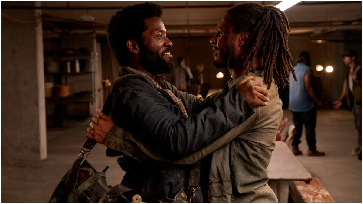 Chinaza Uche as Derek and Colby Hollman as Wes, as seen in Episode 11 of AMC's Fear the Walking Dead Season 6