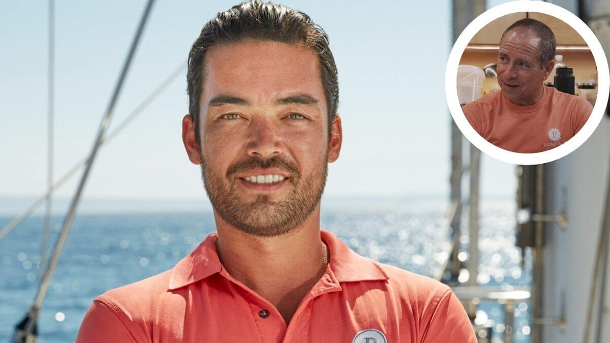 Colin Macrae from Below Deck Sailing Yacht shares his thoughts on Captain Glenn Shephard.