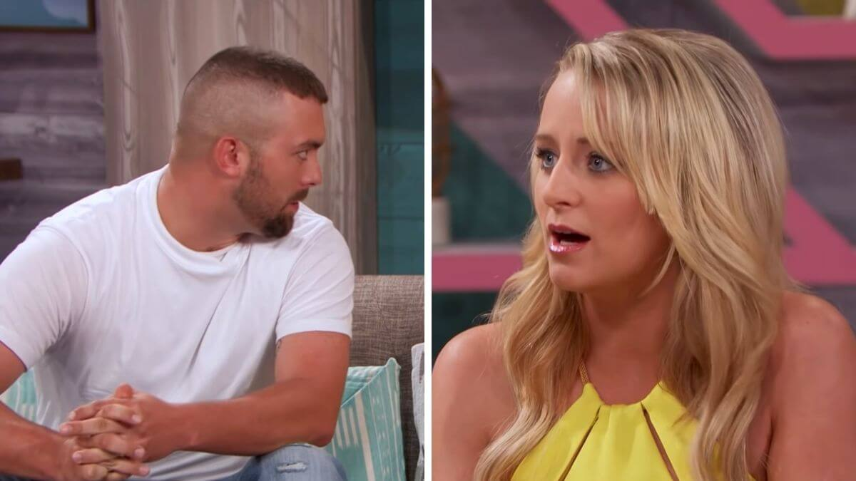 Corey Simms and Leah Messer of Teen Mom 2