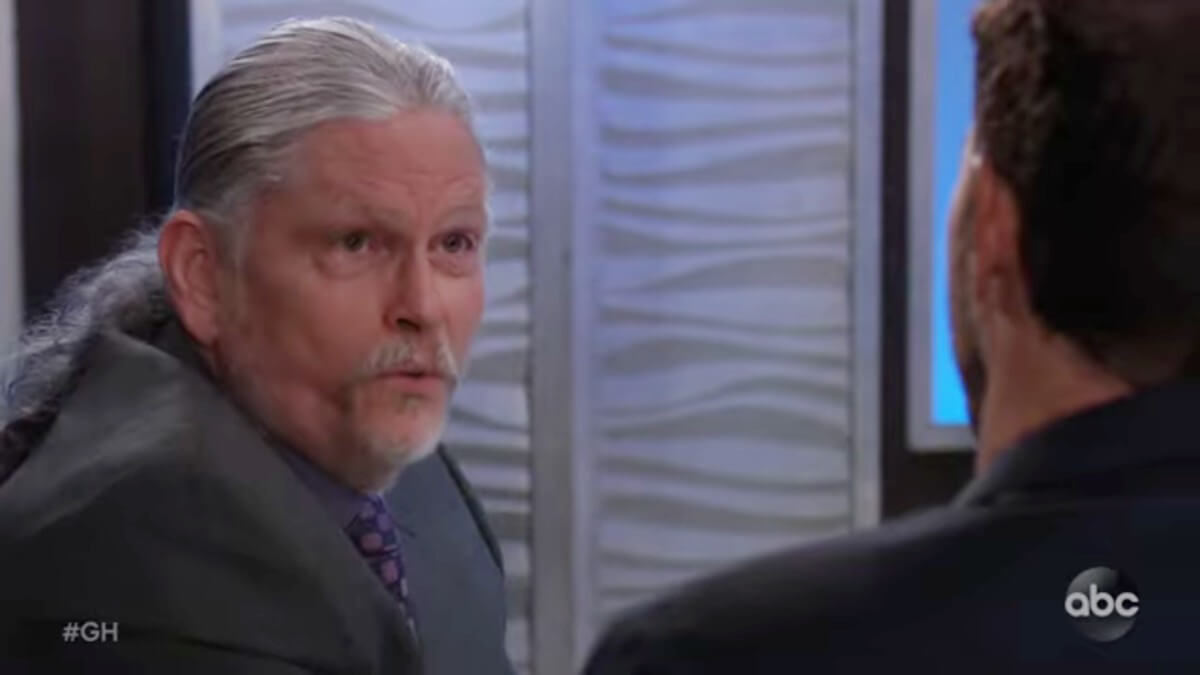 Jeff Kober as Cyrus on General Hospital.