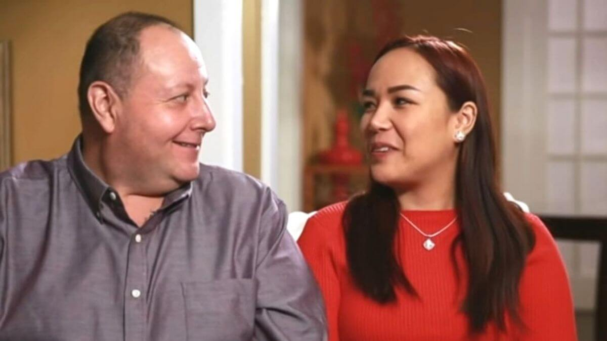 David and Annie from 90 Day Fiance