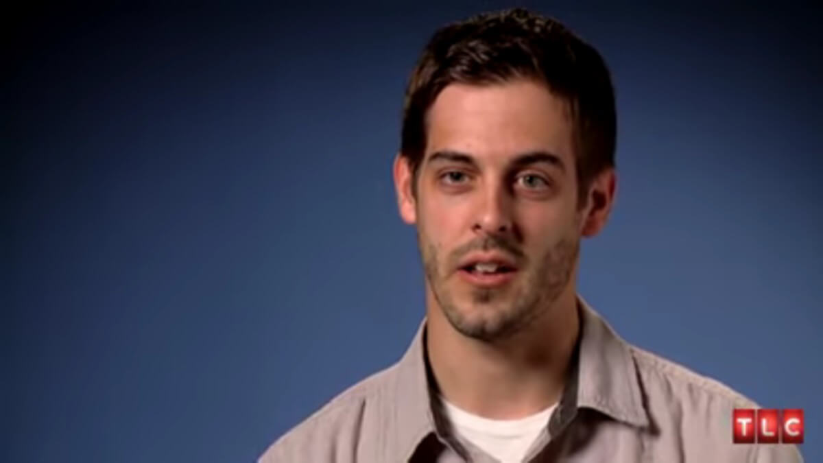 Derick Dillard in a 19 Kids and Counting confessional.