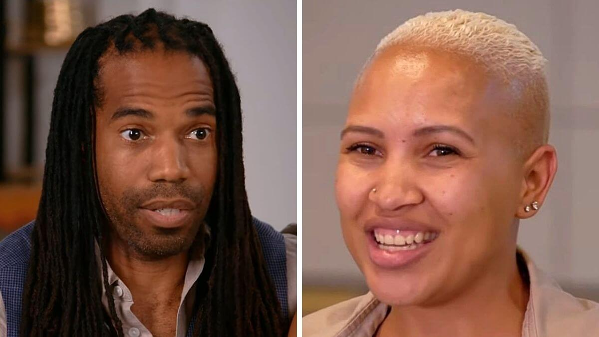 Dimitri Snowden and Christeline Petersen of Seeking Sister Wife