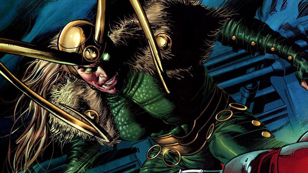 Evil Loki during the Dark Reign storyline