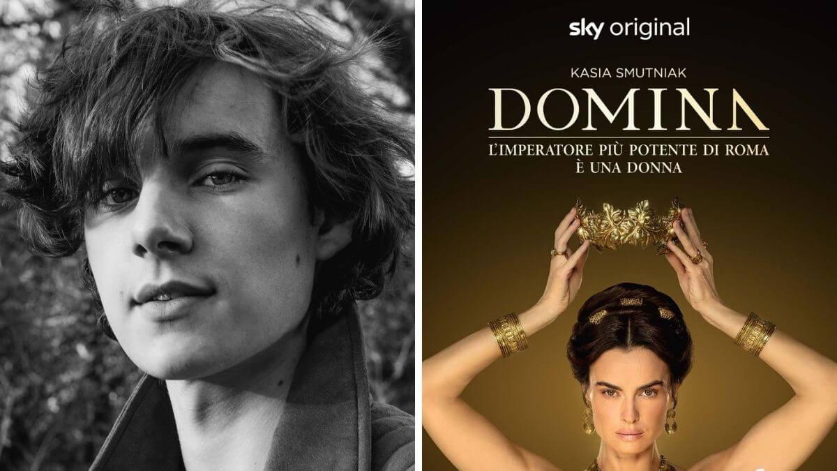 Ewan Horrocks headshot and production image from Domina.