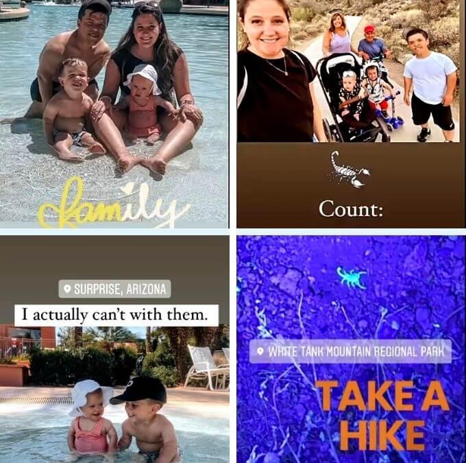 Tori Roloff of Little People, Big World on Instagram