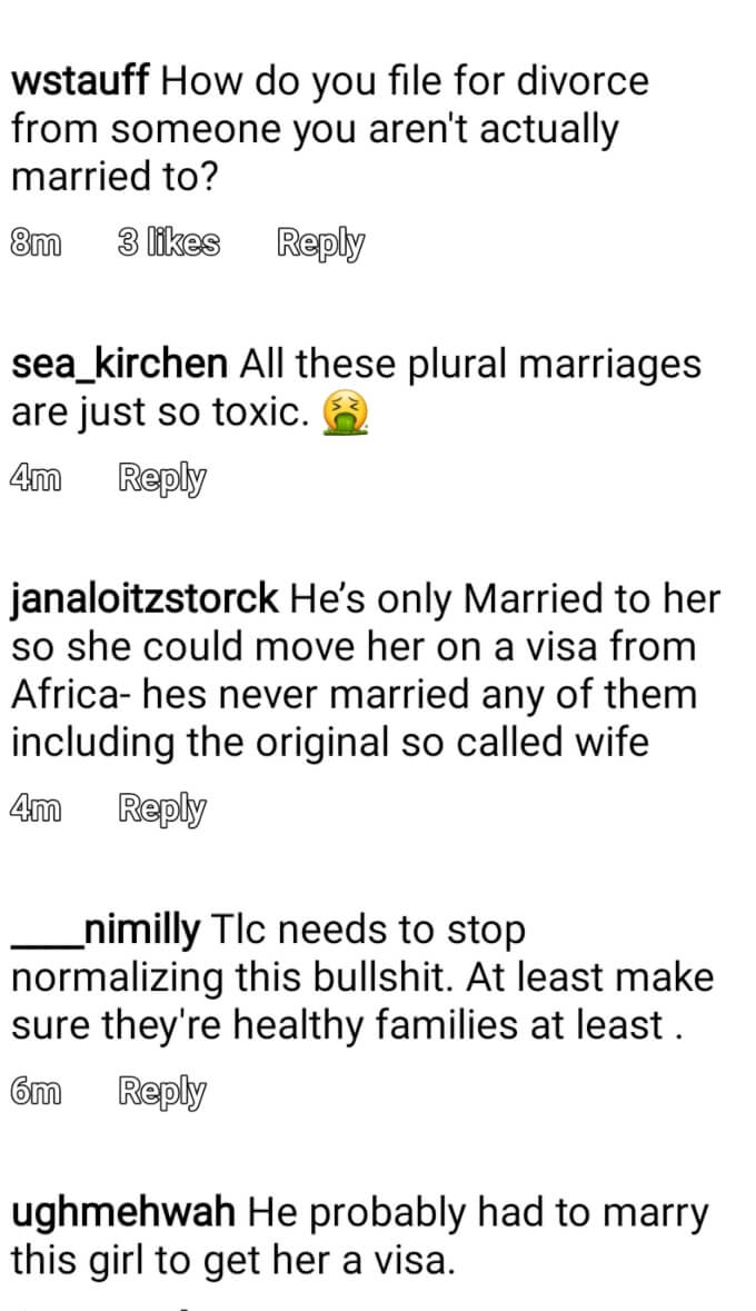 The Snowdens of Seeking Sister Wife on Instagram