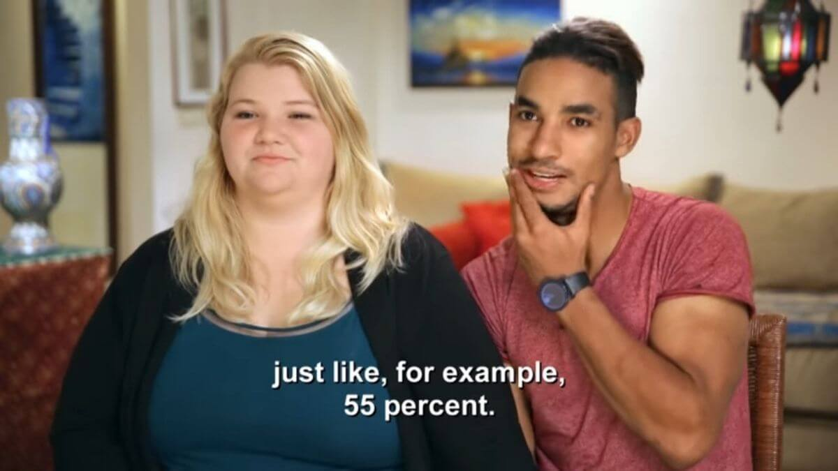 Nicole and Azan from 90 Day Fiance