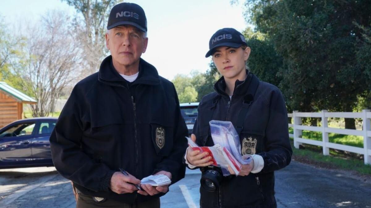 Gibbs And Bishop NCIS