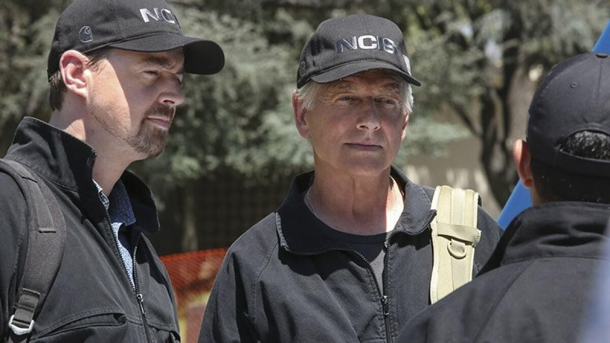 Gibbs And McGee On NCIS