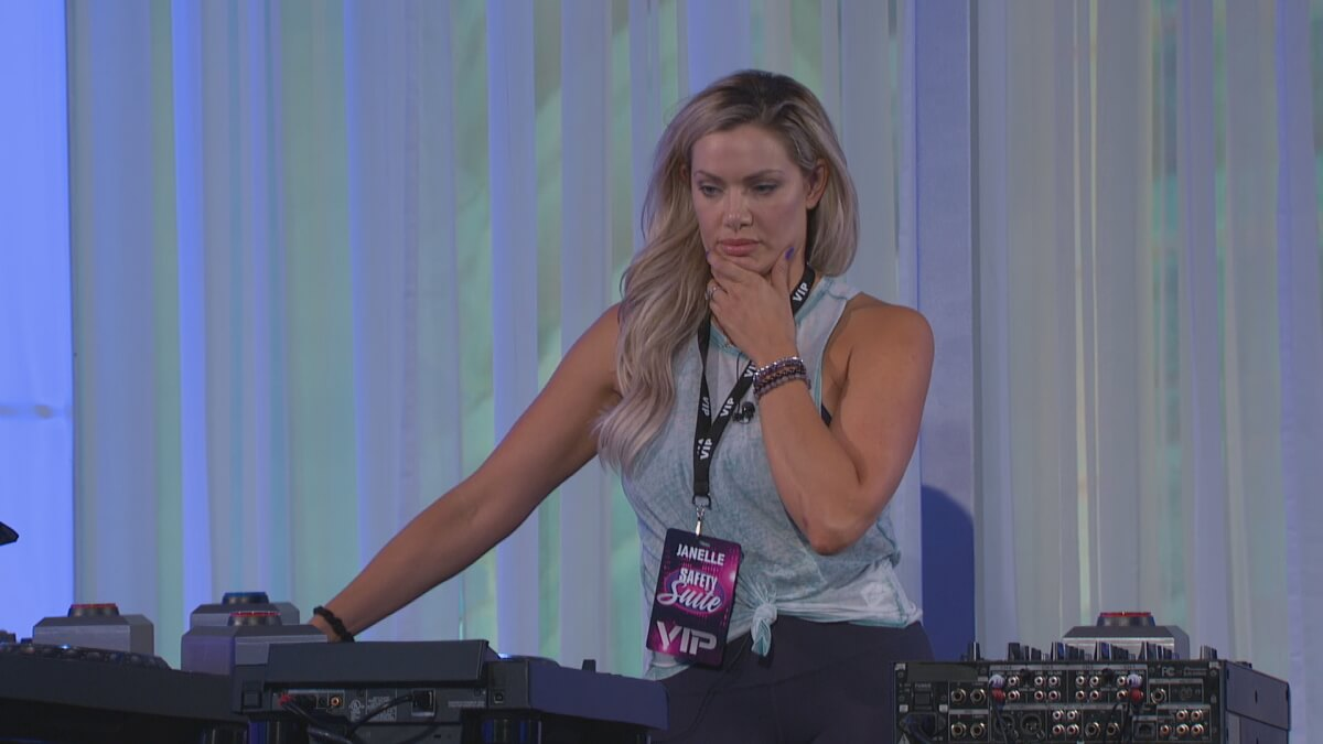 Janelle On Big Brother 2020
