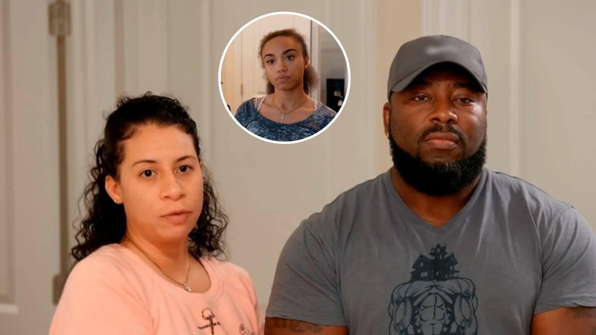 Jarod and Vanessa Clark of Seeking Sister Wife and their ex Kaleh