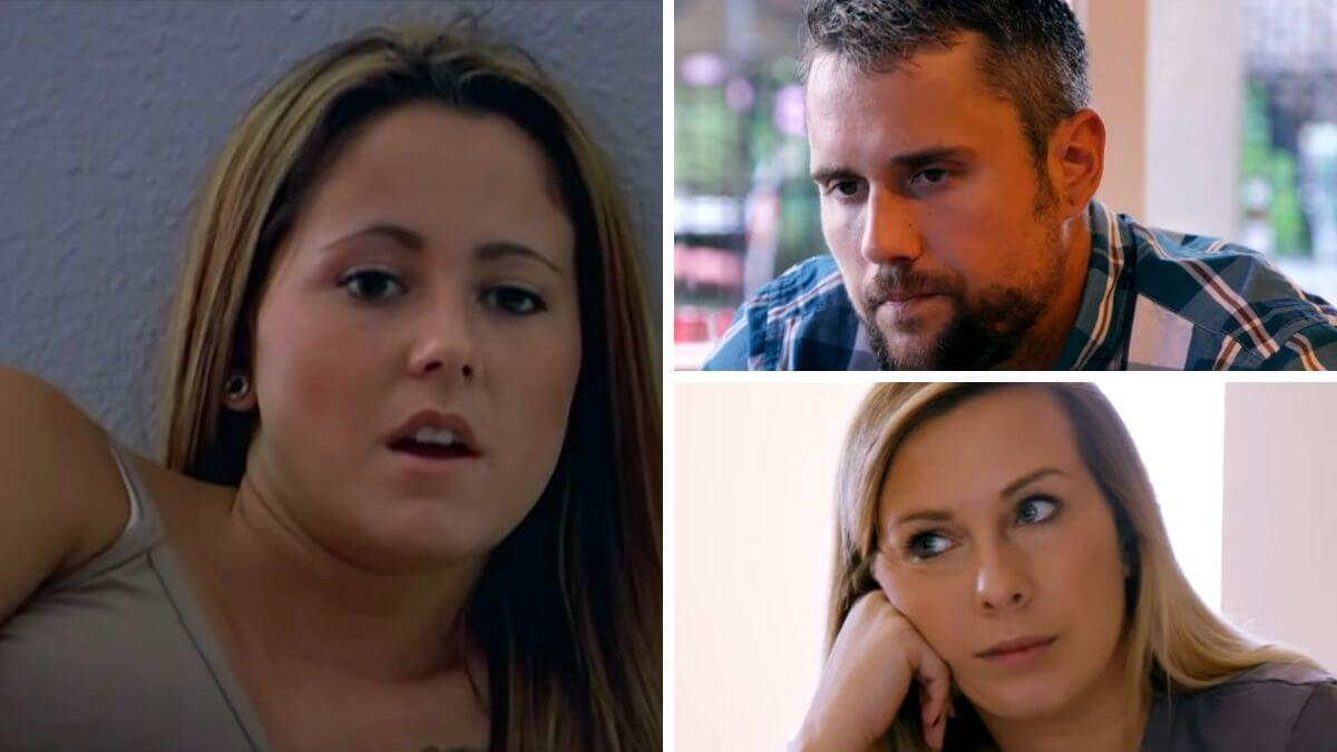 Jenelle Evans formerly of Teen Mom 2 and Ryan and Mackenzie Edwards formerly of Teen Mom OG