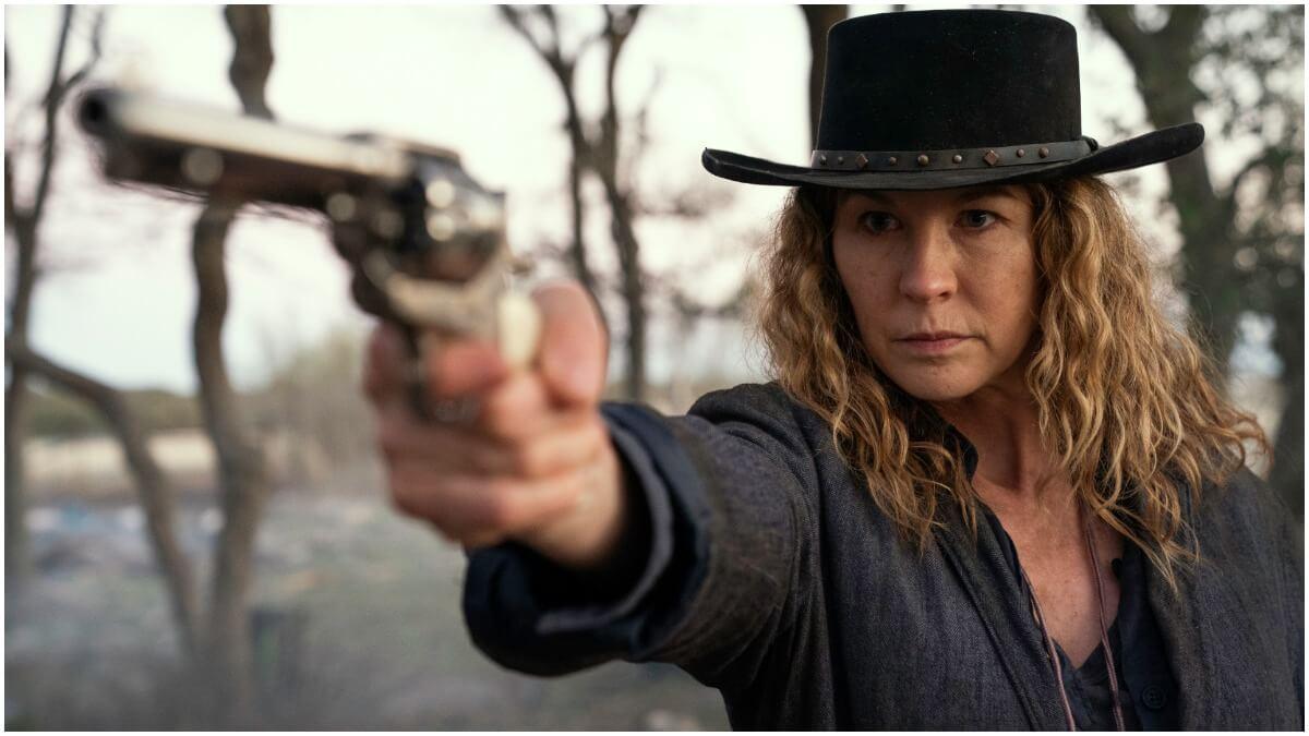 Jenna Elfman stars as June, as seen in Episode 13 of AMC's Fear the Walking Dead Season 6