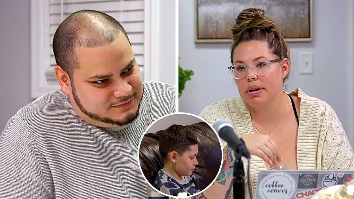 Jo and Isaac Rivera and Kail Lowry of Teen Mom 2