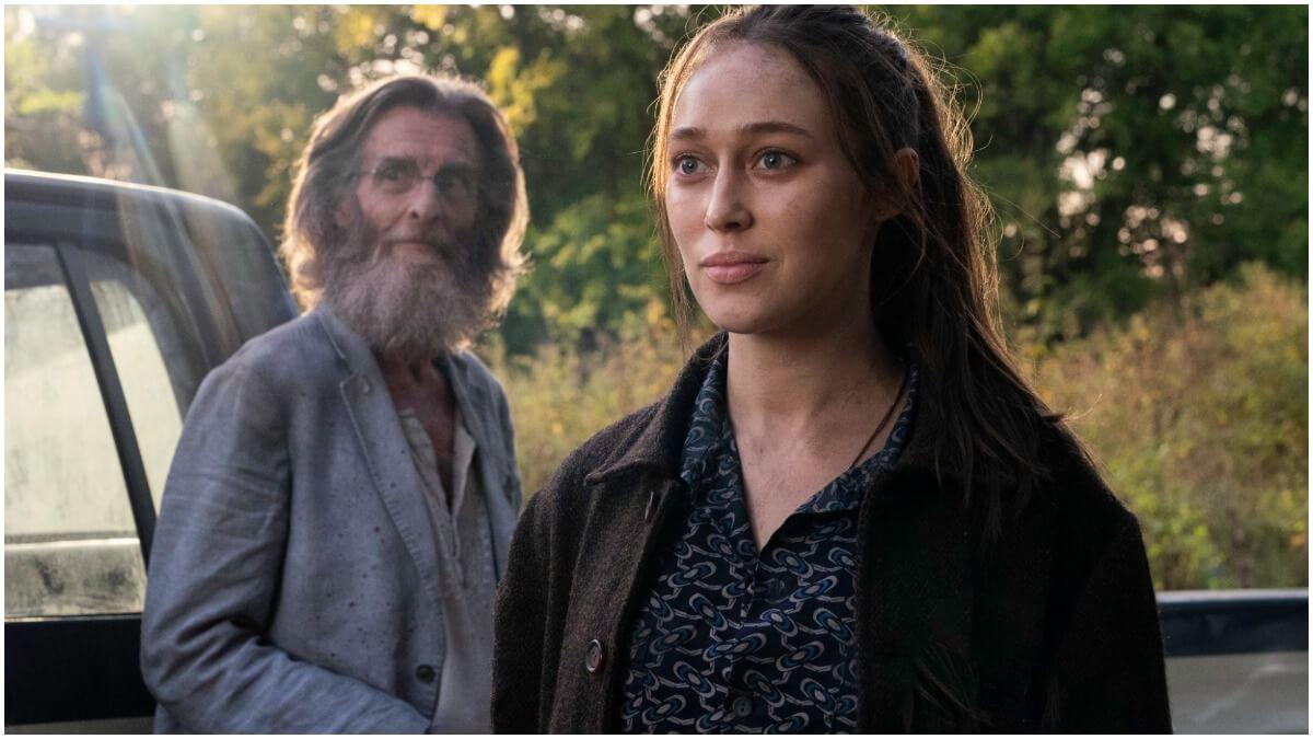 John Glover as Teddy and Alycia Debnam-Carey as Alicia, as seen in Episode 14 of AMC's Fear the Walking Dead Season 6