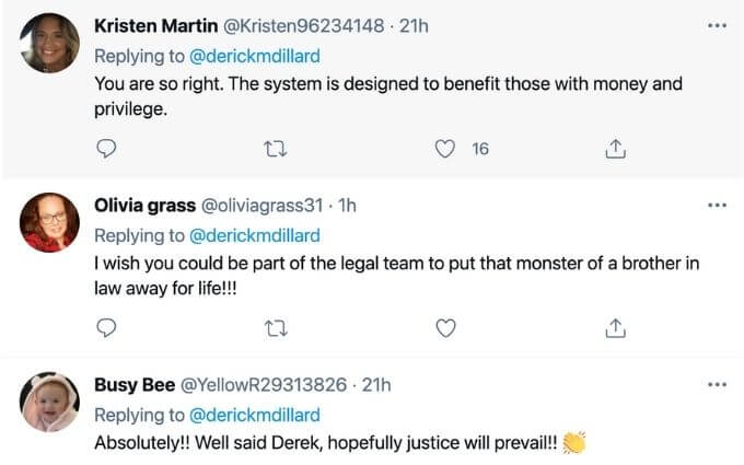 Fans tweet about Josh in response to Derick Dillard