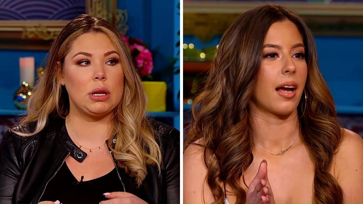 Kail Lowry and Vee Rivera of Teen Mom 2
