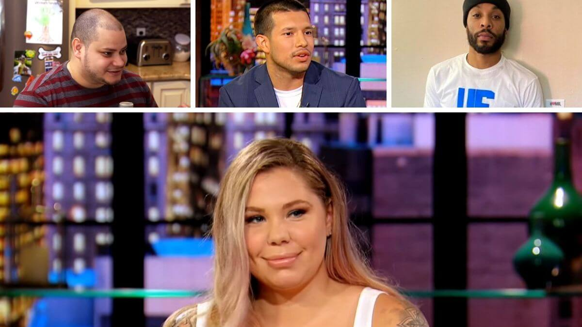 Kail Lowry of Teen Mom 2 and Jo Rivera, Javi Marroquin and Chris Lopez