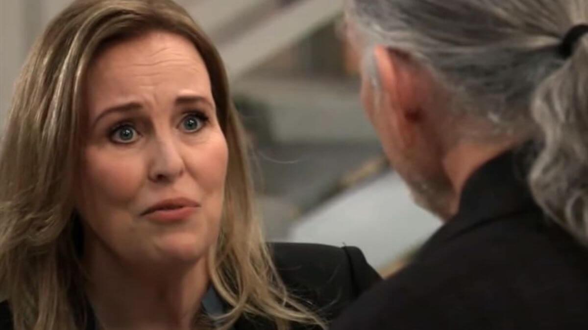 General Hospital spoilers tease Laura's life is in danger.