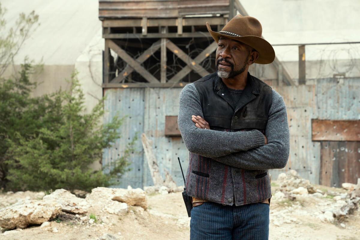 Lennie James stars as Morgan Jones, as seen in Episode 13 of AMC's Fear the Walking Dead Season 6