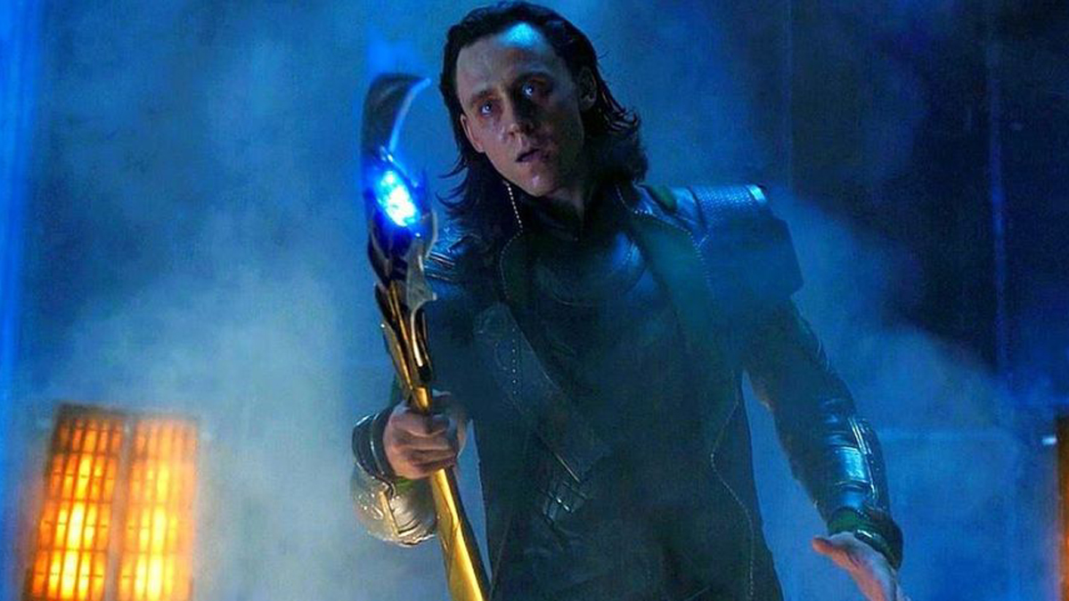 Loki shows up in Avengers movie