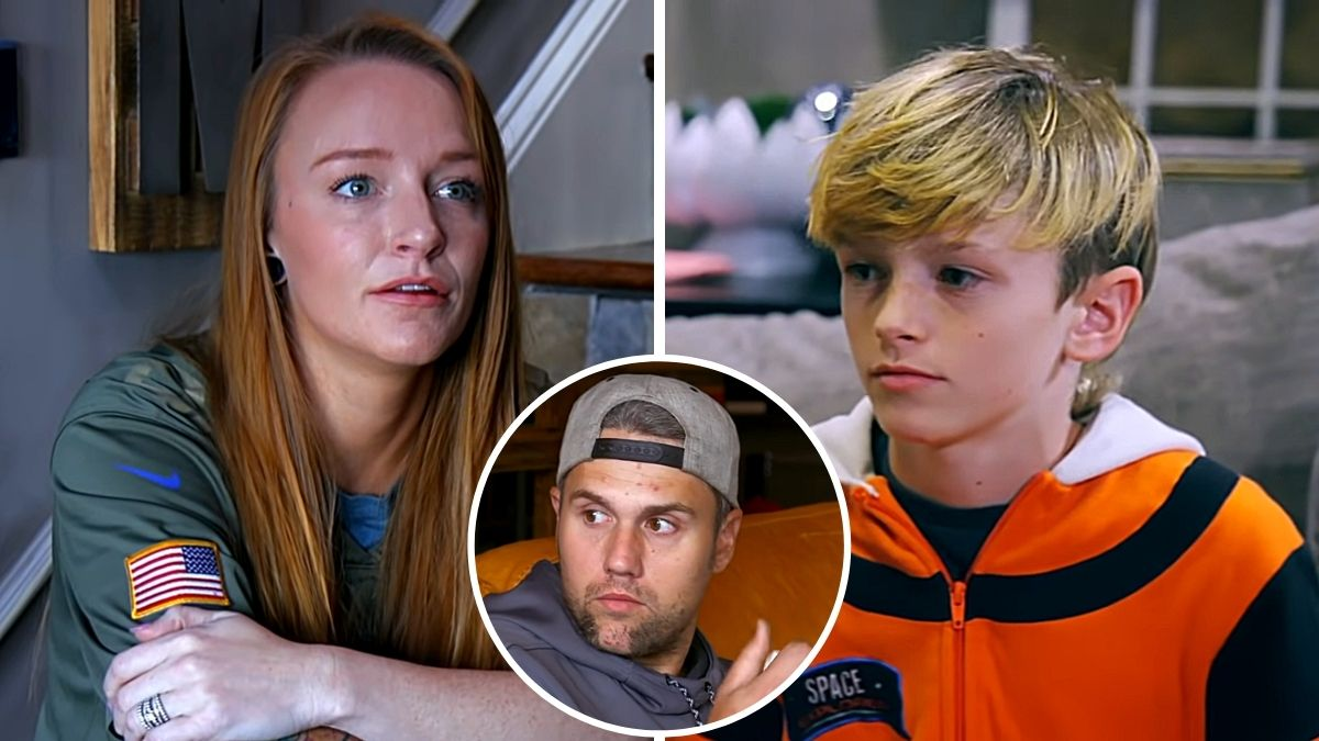 Maci Bookout and Bentley Edwards of Teen Mom OG and Ryan Edwards