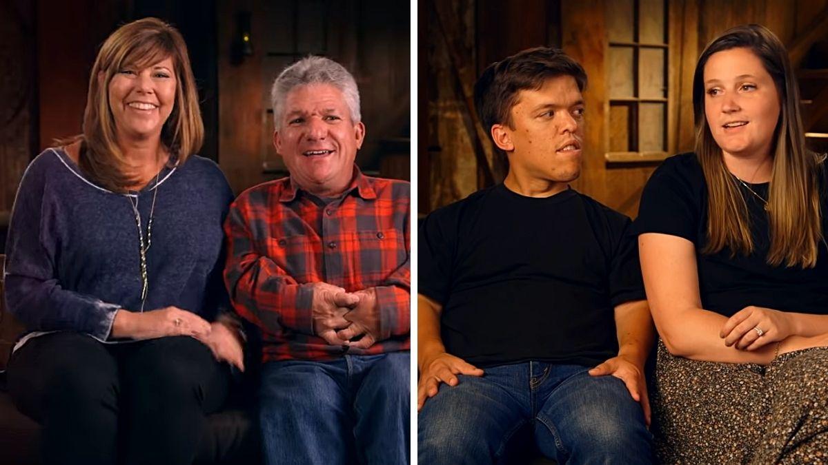 Matt Roloff, Caryn Chandler and Zach and Tori Roloff of LPBW
