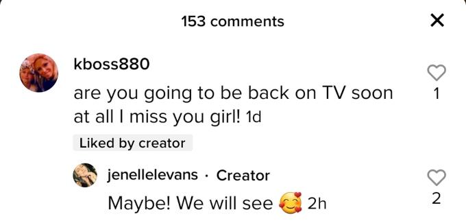 Jenelle Evans formerly of Teen Mom 2 on TikTok