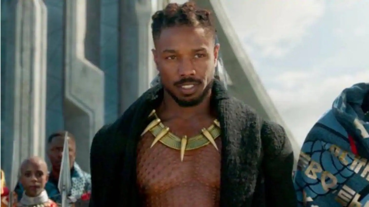 Michael B. Jordan and Killmonger
