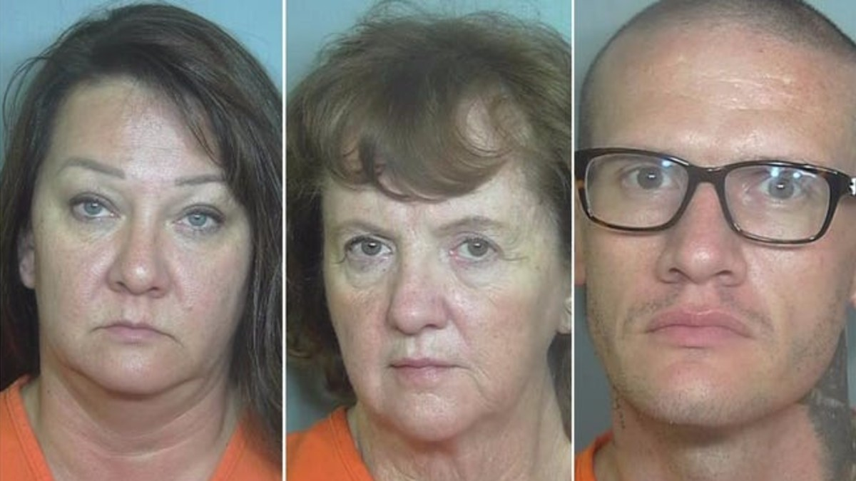 Mugshots in Randy Baker murder