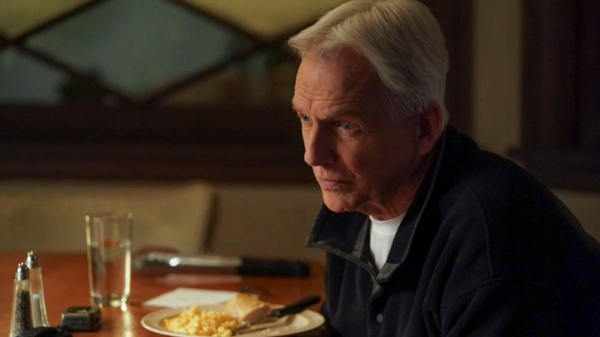 NCIS's Gibbs has a Meal