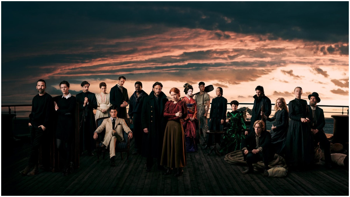 Cast image released by Netflix for the upcoming series, 1899