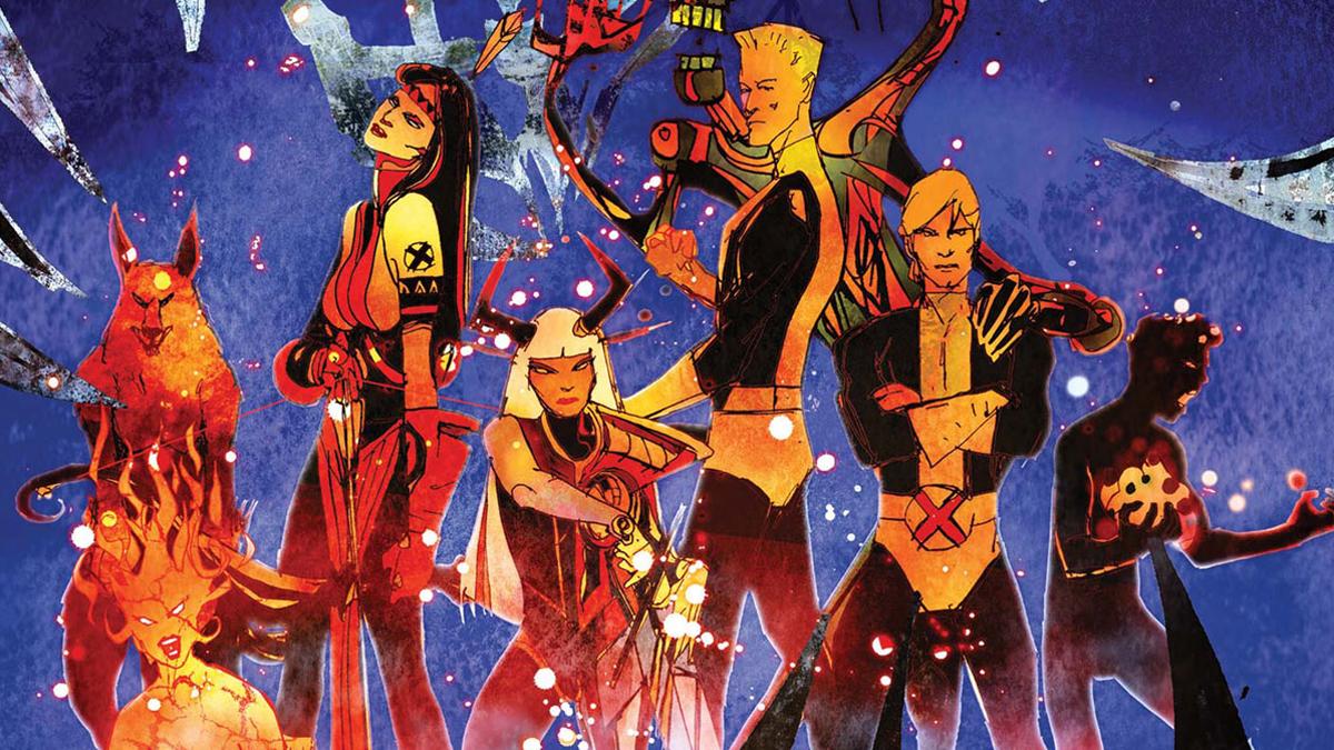 The New Mutants in the Demon Bear Saga.