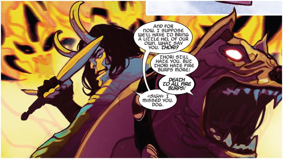 Loki and Thori