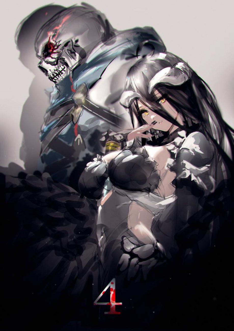 Overlord 4 Ainz Albedo